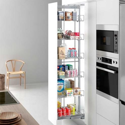 Coluna Extraível Responsável para Armário de Cozinha