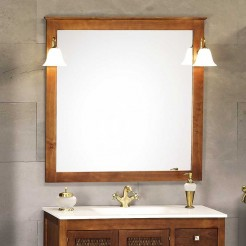 Espelho de Casa de Banho Rústico Jaca