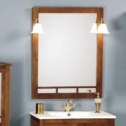 Espelho de Casa de Banho Rústico Berlim