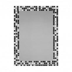 Espelho de casa de Banho Lua Preto-Branco 55x75 cm