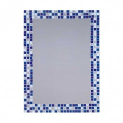 Espelho de casa de Banho Lua Azul 55x75 cm
