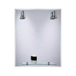 Espelho de casa de Banho com Focos Balear Bisel 60x75 cm