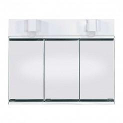 Camarim de Casa de Banho Nova Metálico Branco 3 Portas