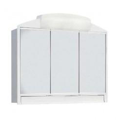 Camarim de Casa de Banho Rando ABS Branco 3 Portas