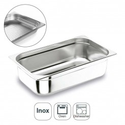 Colher Perfurada Inox Aisi 200 Gastronorm 1/1