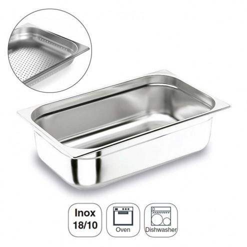 Colher Perfurada Inox 18/10 Gastronorm 1/1