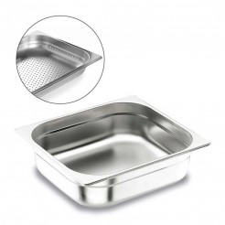 Colher Perfurada Inox Aisi 200 Gastronorm 2/3