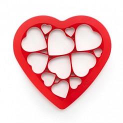 Molde Cortador De Biscoitos Corações