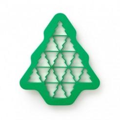 Molde Cortador de Biscoitos Árvores de Natal