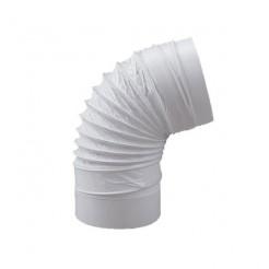 Cotovelo redondo flexível Diâmetro 150mm Comprimento 500mm