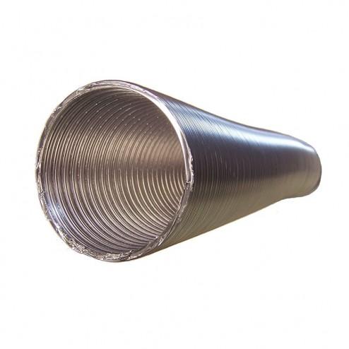 Tubo Redondo em Alumínio Flexível, Diâmetro 150 mm