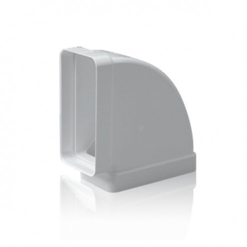 Cotovelo retangular horizontal 90º 75x150 mm
