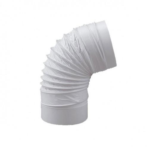 Cotovelo redondo flexível Diâmetro 120mm Comprimento 500mm