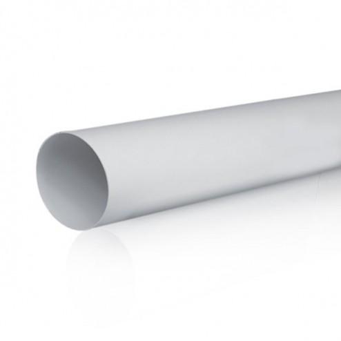 Tubo redondo de diâmetro 100mm Comprimento 1500mm