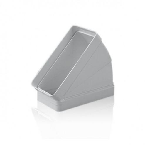 Cotovelo retangular horizontal 45º 60x120 mm