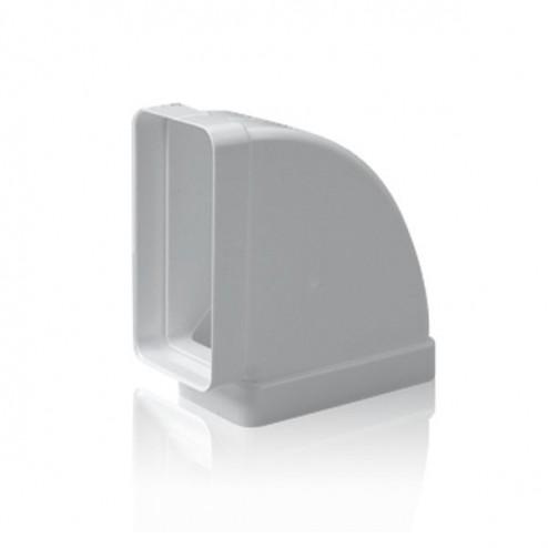 Cotovelo retangular horizontal 90º 60x120 mm