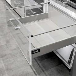 Gaveta para Panelas Alvic EVO-2 Cinza 40 kg