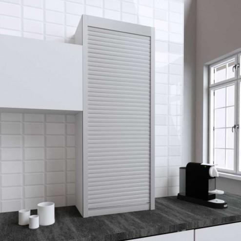 Kit para armário persiana cozinha inox mate 150x60