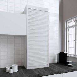 Kit para armário persiana cozinha branco mate 150x60