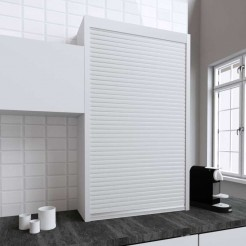 Kit para armário persiana cozinha branco mate 150x90
