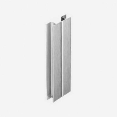 Multi-ângulo Alumínio Escovado Rodapé PVC Cozinha