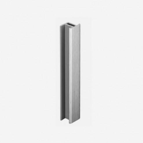 União Alumínio Escovado Rodapé PVC Cozinha