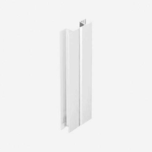 Multi-ângulo Branco Rodapé PVC Cozinha