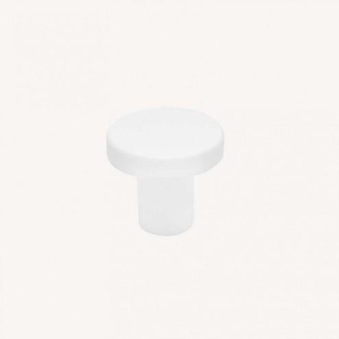 Maçaneta Metálica Branco Fosco 2078E