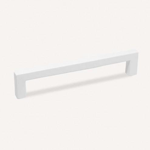 Puxador Metálico Branco Fosco 4789