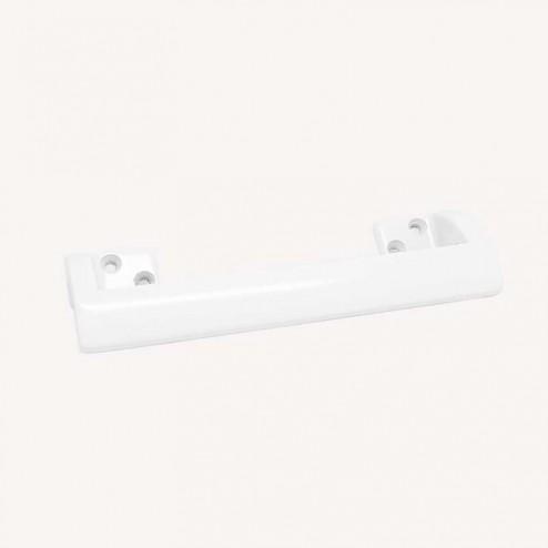 Puxador Metálico Branco Fosco 2283