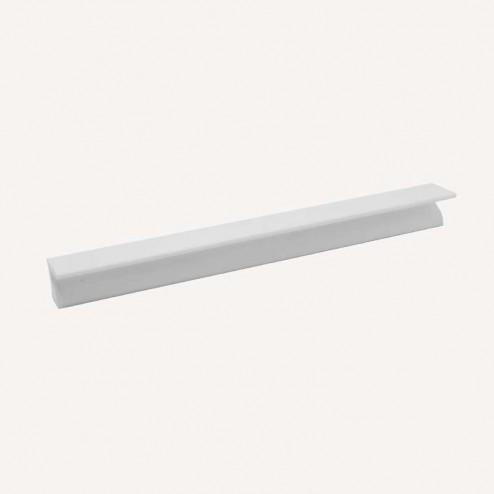 Puxador Alumínio Branco Fosco 2450