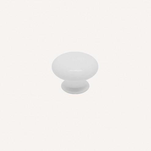 Maçaneta Resina Branco Fosco 3001