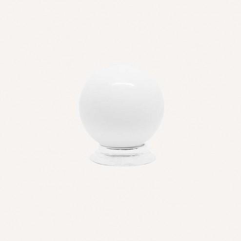 Maçaneta Resina Branco Fosco 3417
