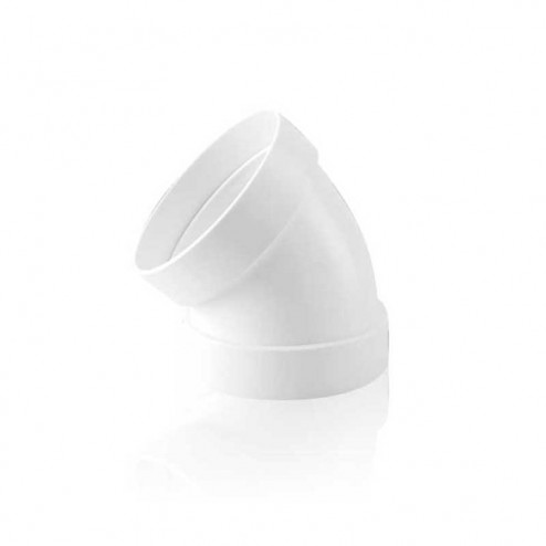 Cotovelo Redondo 45º Diâmetro 100 mm
