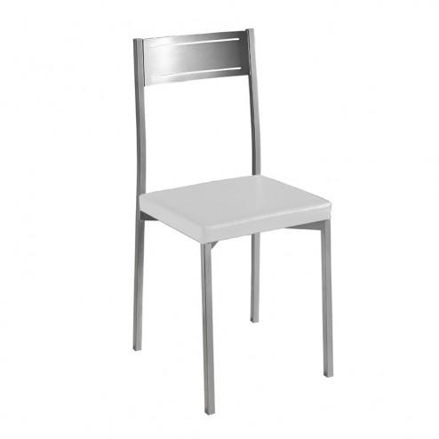 Cadeira De Cozinha Cromado Mate 7953