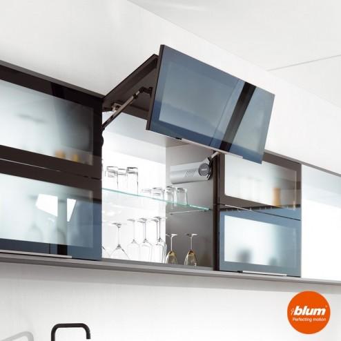 Dobradiça Articulada cozinha AVENTOS HF1 Blum para portas dobráveis