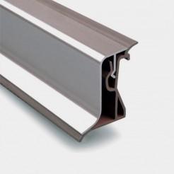 Topete Bancada Alumínio Inox