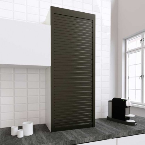 Kit para Armário Persiana Cozinha Titânio 150x60