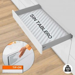 Gaveta Tandembox M TIP-ON BLUMOTION 65 kg Kit SEM Base