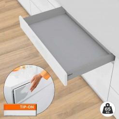 Gaveta Tandembox M TIP-ON BLUMOTION 65 kg Kit COM Base Fundo 50