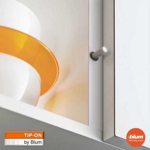 TIP ON Longo Blum - porta cozinha com botão de pressão