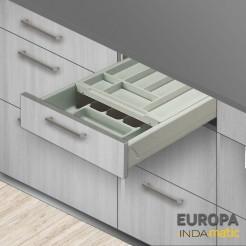 Cajon cozinha duplo cubertero PVC Europa - várias medidas