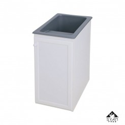 Armário lavanderia-pilha alumínio Apolo