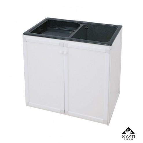 Armário lavanderia-pilha alumínio Thor