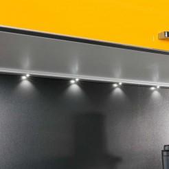 Tira diodo Emissor de luz de 6000K Righello