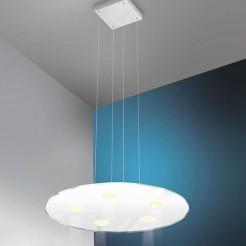 Lâmpada do diodo Emissor de luz 600 mm 3750 lm Inox e Vidro Sun