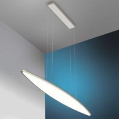 Lâmpada do Teto do diodo Emissor de luz 36W 3740 lm Inox e Vidro Sky Emozione