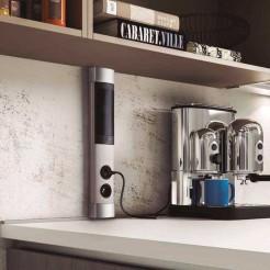Torre de 2 entradas de Rede + USB + Bluetooth viva-voz