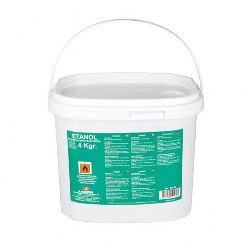 Cubo 4 kg Gel Combustível Etanol