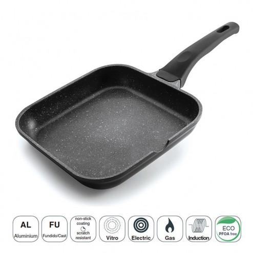 Grill Liso Black Eco-Pedra